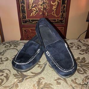 Dark Blue Loafers